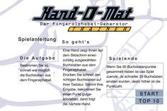 auf der seite :http://www.imperfekt.de kann man das deutsche Fingeralphabet lernen, schnell zu lesen.