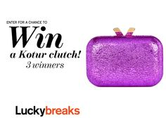 Enter here to win one of 3 Kotur bags––worth $350 each!