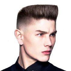 mens flat top haircut