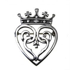 Mary Queen of Scots Luckenbooth Brooch - Celtic Jewellery and Scottish Gifts - (Powered by CubeCart)