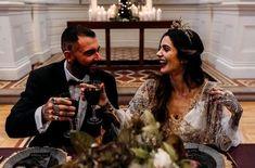 Rock n Roll wedding ideas Wedding Shoot, Wedding Table, Wedding Ideas, Cottage Wedding, Celestial Wedding, Warehouse Wedding, Wedding Company, Vintage Bridal, Industrial Wedding