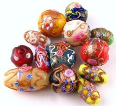 antique venetian wedding cake beads - Google Search
