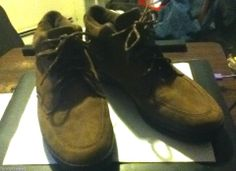 Easy Spirit Ankle Boot - Soft Suede, Brown, 9.5 B - Made for Comfort!