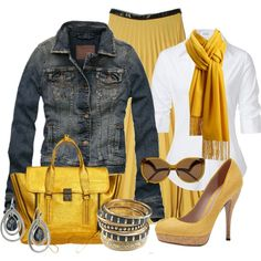 """Yellow Bag #4"" by stylesbyjoey on Polyvore"