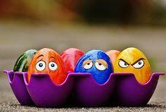 Easter, Easter Eggs, Funny, Eyes