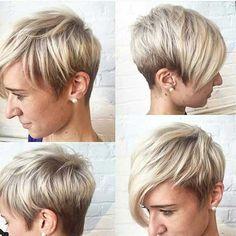 11 hübsche und flotte Kurzhaarfrisuren mit rasierten Nacken ... - Neue Frisur