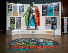 Invisible Superheroes exhibition