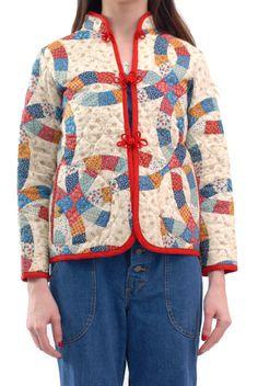 70s patchwork jacket