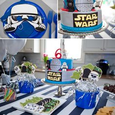 Star Wars party kids