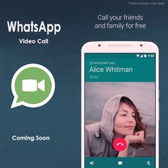 COMING SOON: WHATSAPP VIDEO CALLING FEATURE IN BETA MODE https://socioblend.com/blog/2016/11/03/coming-soon-whatsapp-video-calling-feature-beta-mode/