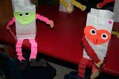 valentine card holder craft preschool - Bing images