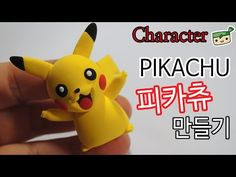 Pokémon Pikachu Character polymer clay tutorial