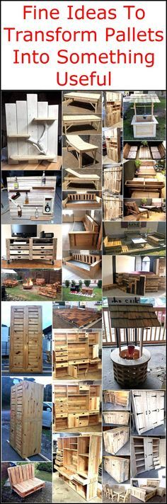 There are a few things that can be reshaped and reused for different purposes and they can be turned into the things that can save a lot of money, one of them are wooden pallets with which one can create furniture that is costly; but the use of wood palletsat home can save a huge amount of hard earned money.