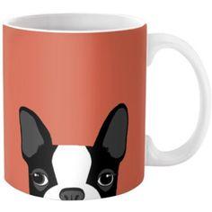Dot & Bo All Ears Ceramic Mug ($14) ❤ liked on Polyvore