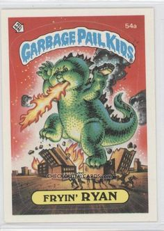 Fryin' Ryan | Garbage Pail Kids