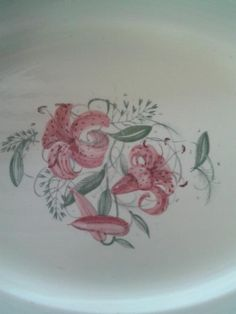 English Porcelain - MAGNIFICENT EXTRA LARGE SUSIE COOPER MEAT PLATTER TIGER LILY for sale in Paulpietersburg (ID:220898264)
