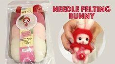 needle felting 羊毛 - YouTube