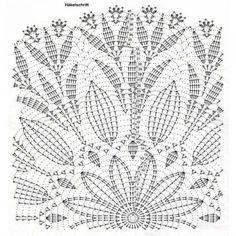 Home Decor Crochet Patterns Part 171 - Beautiful Crochet Patterns and Knitting Patterns Mandala Au Crochet, Crochet Doily Diagram, Crochet Stars, Crochet Doily Patterns, Knitting Patterns, Crochet Table Topper, Crochet Table Runner, Crochet Tablecloth, Beau Crochet