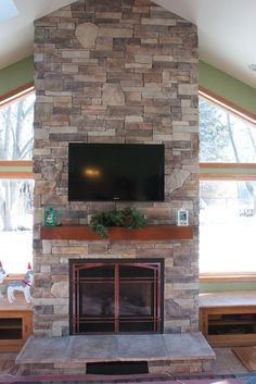 Super excited to share the transformation of our Chicago's Ugliest Fireplace contest winner! www.northstarstone.biz