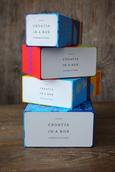Croatia in a Box on Packaging of the World - Creative Package Design Gallery