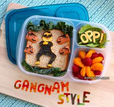 My kids would LOVE this Bento Lunch!