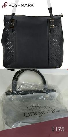SALE!! NWT URBAN ORIGINALS Black New with tags  AUTHENTIC  Black  Measures  14 inches by 12 inches by 6 inches  MAKE ME AN OFFER URBAN ORIGINALS  Bags