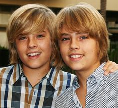 Dylan & Cole Sprouse Boys Hairstyles