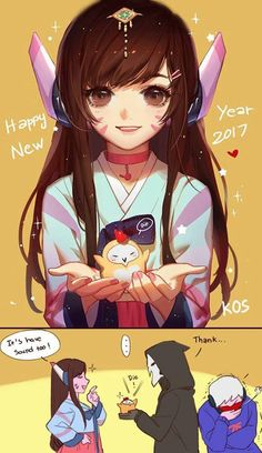 Happy new hear Reaper <3 By D.va