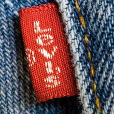 Levi's 501. For some reason in middle school we preferred red tag Levi's jeans to orange tag ones.
