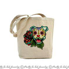 VIDA Tote Bag - DAY OF THE DEAD by VIDA WWebd