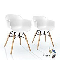 Modern Esszimmerstuhl weiß Chrom Beine Wohnzimmer Stuhl ABS inspiriert essstuhl
