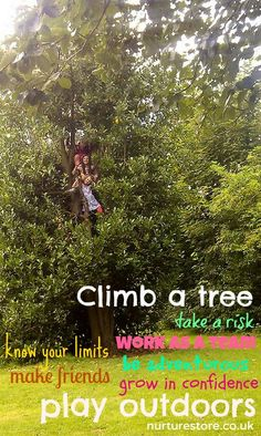 ‎'A generation of overprotected children need to be given greater freedom to learn about risk as they play' says the Health & Safety Executive. Who thinks more kids should climb trees?