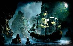 Ghost Pirate Ship Backgrounds For Desktop Wallpaper 1920 x 1200 px 692.31 KB map ghost pirate pirate real painting hd spaceship