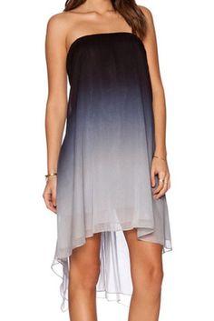 Ombre sleeveless dress