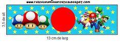 Imprimibles de Super Mario Bros 2. | Ideas y material gratis para fiestas y celebraciones Oh My Fiesta!