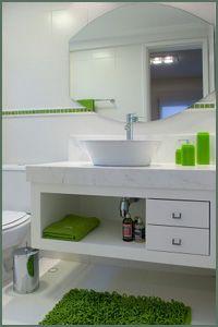 branco com verde