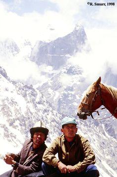 Top of Aktubek Pass - Kyrgyzstan