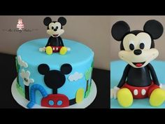 Disney Mickey Mouse Clubhouse Cake Tutorial! - YouTube