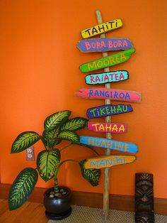my Tahiti island beach signs Luau Theme Party, Hawaiian Party Decorations, Aloha Party, Tiki Party, Party Themes, Hawaiian Birthday, Luau Birthday, Hawaiian Parties, Hawaiian Luau