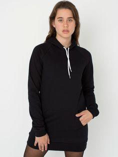 California Fleece Pullover Raglan Hoodie Dress 44.00