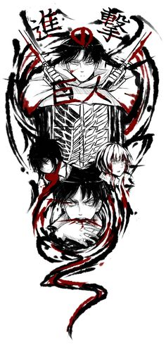 Shingeki no Kyojin by Pupinta.deviantart.com on @deviantART