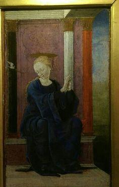 Cosme Tura- Vergine Annunziata - Roma - Galleria Colonna