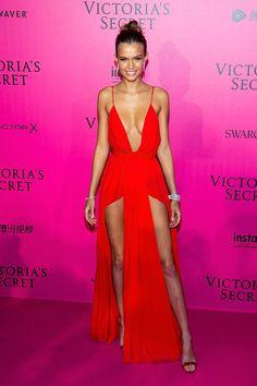 Josephine Skriver - 2016 Victoria's Secret Fashion Show After-party - HarpersBAZAAR.com