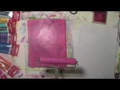 Getting Rich Layers of Color in One Print on the Gelli Plate with Caroly...