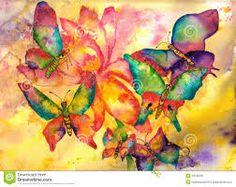 imagenes de pinturas abstractas de mariposas - Buscar con Google