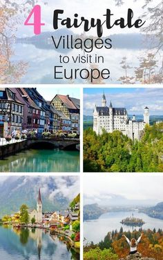 OMG gorgeous! Heading to Europe this summer? These 4 Fairytale Villages in Europe are a Must Visit - The Traveling Spud