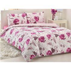 Bed in Bag Queen Size Comforter Set- Coral Blossom Queen Size Comforter Sets, Shabby Chic, Bed In A Bag, Buy Bed, Comforters, Blanket, Bags, Furniture, Home Decor