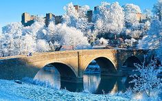 Ludlow in the snow