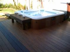 Image detail for -Double Level Deck with Hot Tub - Wood Decks Photo Gallery - Archadeck ...