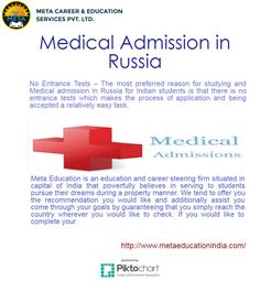 If you would like to complete your MBBS in Russia, then contact North American country nowadays to understand however we will build this doable for you.